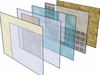 SketchUp Material Transparency