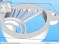 2 Methods to make a Solid 3D Model using SketchUp