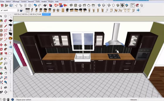 Download plugin sketchup extension skp extension warehouse for Cuisine 3d sketchup