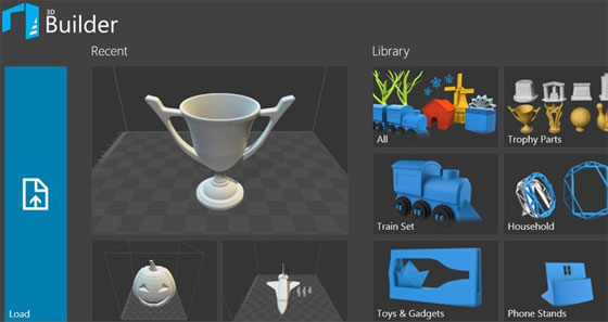 Microsoft just introduced 3D Builder R5 with cloud based support