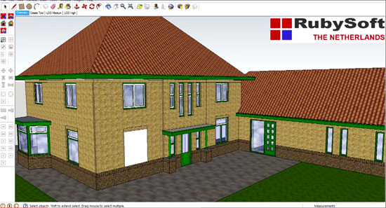 3dRubyWindow – An exclusive sketchup extension for perfect architectural and construction drawing