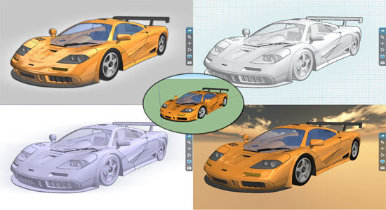 Spread3D Review, an online 3D model viewer and 3D collaboration tool for sketchup