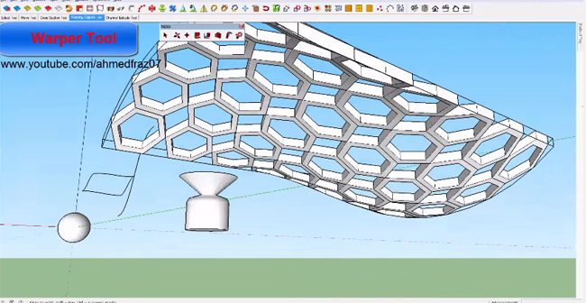 Demo of TGI3D plugin for sketchup