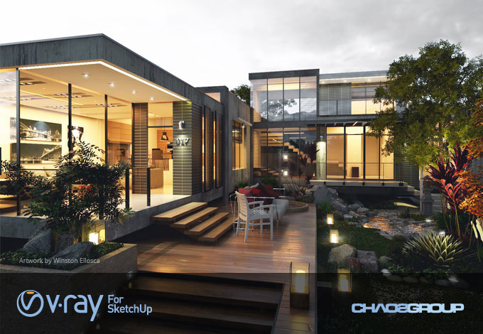 V-Ray 2.0 for SketchUp - Release Candidate 3