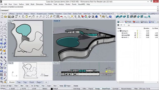 VisualARQ 1.8 - BIM and Architectural Tools for Rhinoceros