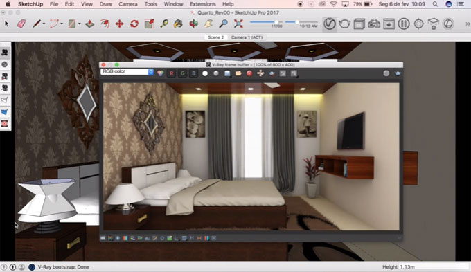 How to efficiently use advance camera tools inside sketchup