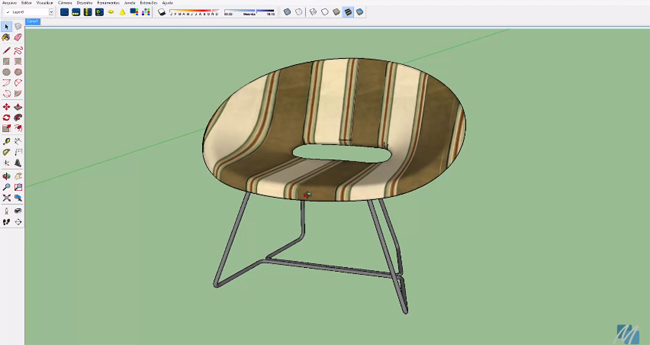 How to make an advanced texture mapping perfectly in Sketchup