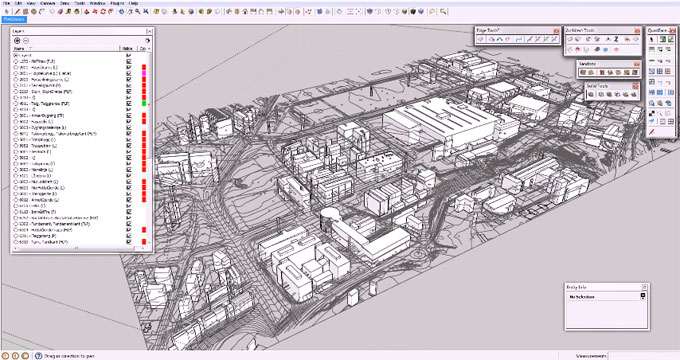 Architect Tools ? The new sketchup extension