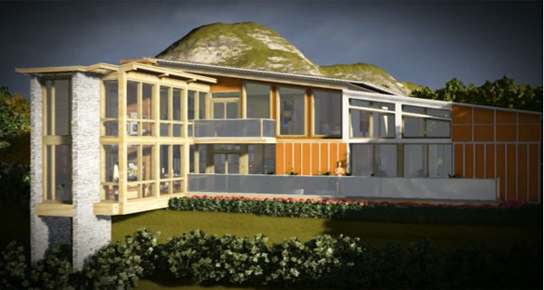 Architectural design with Lumion 3D and Google Sketchup