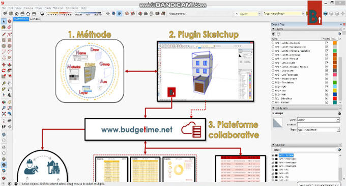 Budgetime 1.0 ? The newest sketchup extension