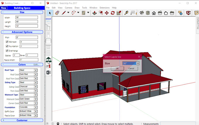 Building Creator – The newest extension available in extension warehouse
