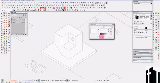 Learn to insert light to your sketchup model with IRender nXt