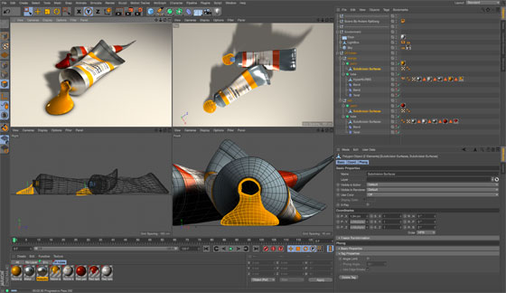 Cinema 4D R17 having integration with Sketchup