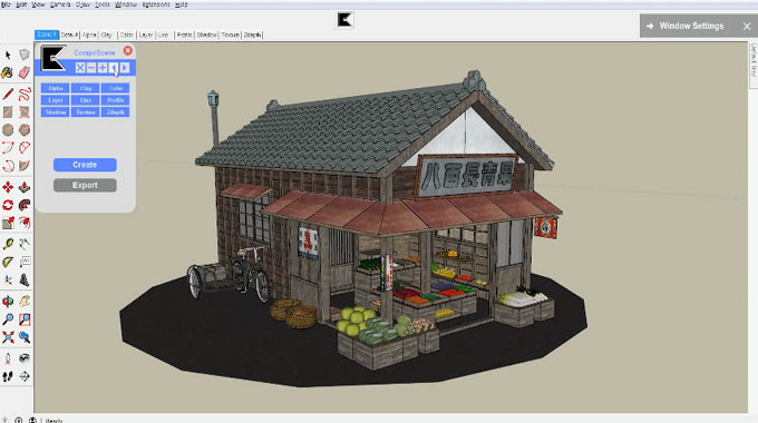CompoScene – The newest sketchup extension is just launched