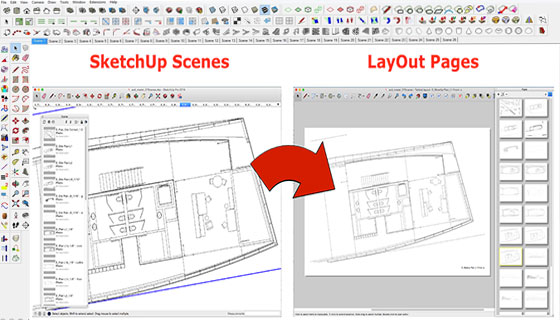 Create layout file sketchup 2016 sketchup extension for Draw layout warehouse