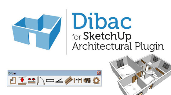 Create stunning architectural drawings with Dibac 2015 for SketchUp Architectural Plugin