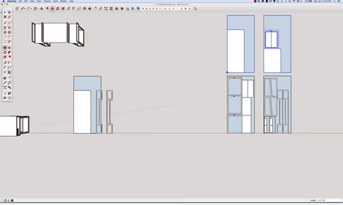 Some useful sketchup tips for estimating materials in sketchup