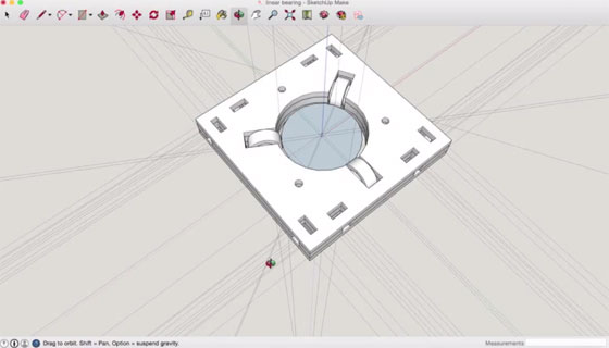 3d parts with sketchup to GCode Plugin