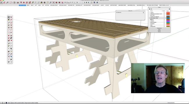 Golden Rule of Sketchup – A useful presentation by Ron Paulk