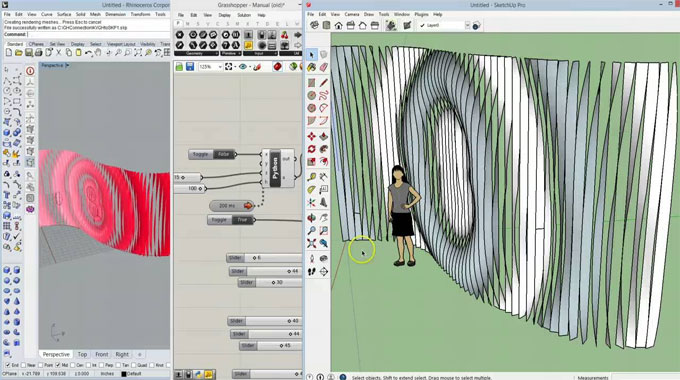 Grasshopper For Sketchup