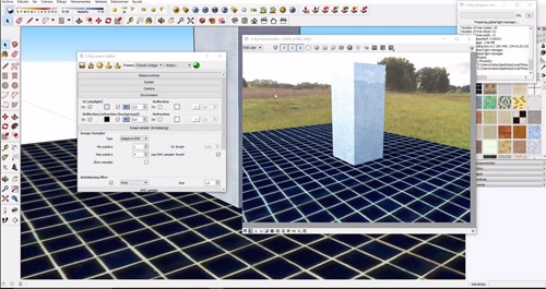 How to create Maps and HDRI in Sketchup Vray