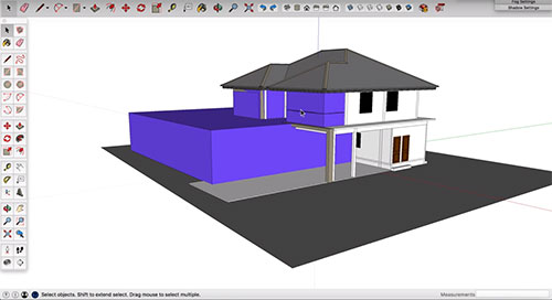 How sketchup functions in the BIM process with Revit