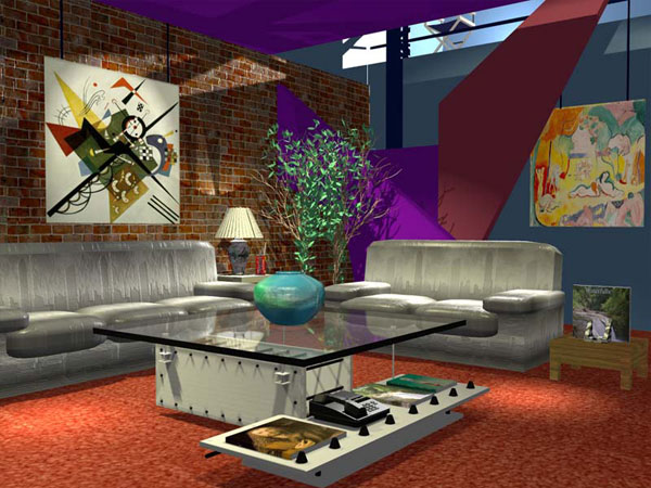 Sketchup plug in download nugraf rendering scene for Colores para living feng shui