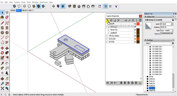 Layers Organizer 2.2.0 for Sketchup