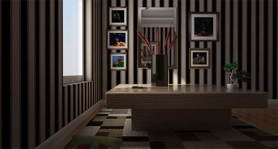 Learn how to apply basic lighting with v-ray for sketchup