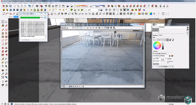 How to make the best use of materials in v-ray for sketchup