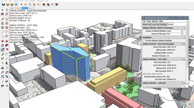 Modelur for parametric urban design v0.5.7-R2