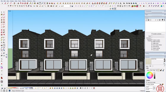 How to design a Modern House with Sketchup