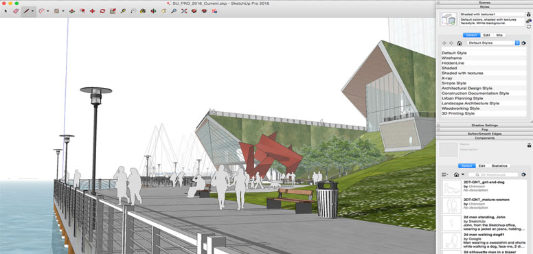 new features are included in Sketchup Pro 2016