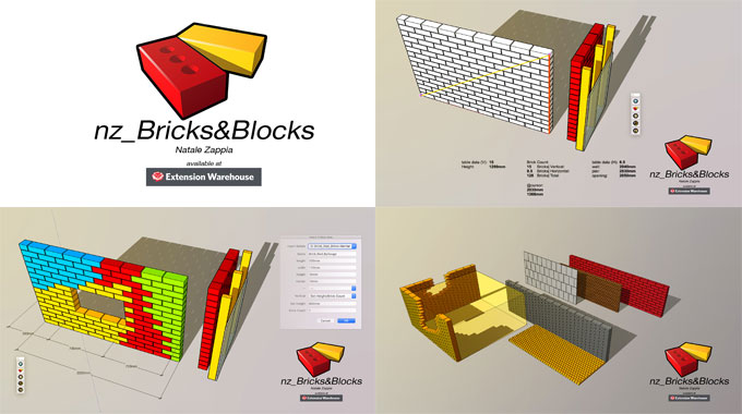 nz_Bricks&Blocks ? The newest sketchup extension