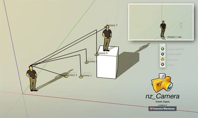 nz_Camera – The newest sketchup plugin