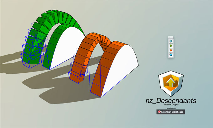 nz_Descendants – The most updated sketchup extension