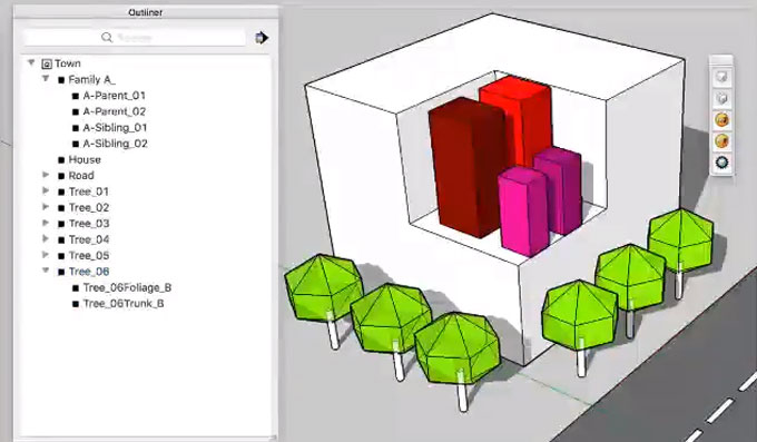 nz_EasyGroups for sketchup