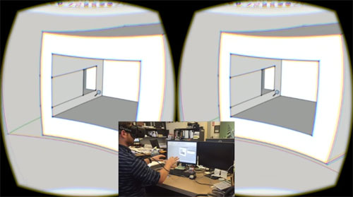 How to use sketchup for Oculus and Leap Modeling