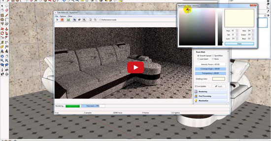 SoftByte Labs launched the most updated version of Raylectron for sketchup alias version 4.14