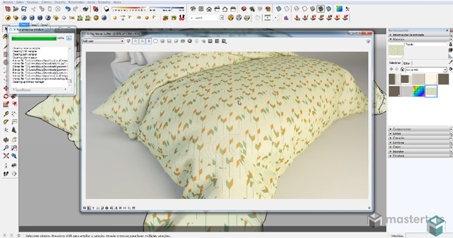 How to Build Realistic Fabric in V Ray for SketchUp