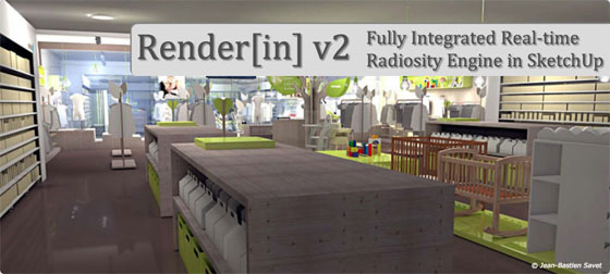 Renderin 2.1.3 for Sketchup 2015