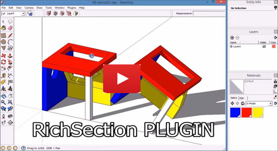 Richsection Plugin for Sketchup and Layout