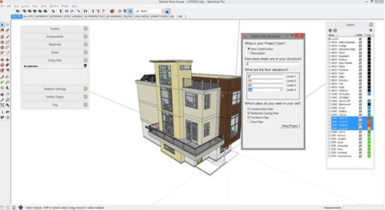 Scene Generator Beta - The latest Plugin for sketchup users