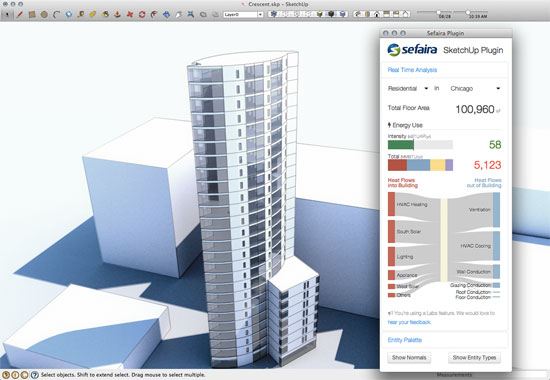 Sefaira SketchUp Plugin can now be incorporated with Web Application