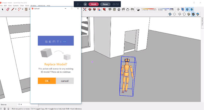SentioVR for Sketchup ? The newest web based sketchup plugin