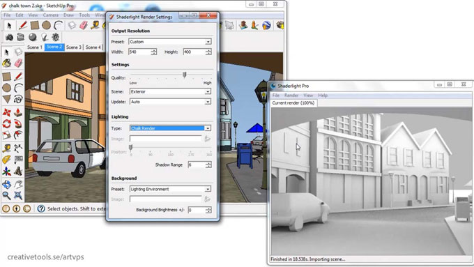 Shaderlight 2019 launched with support to sketchup 2019