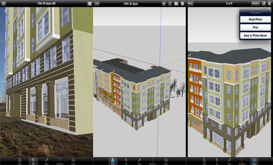 Sketchup 2015 and SightSpace 3D Mobile Augmented Reality App