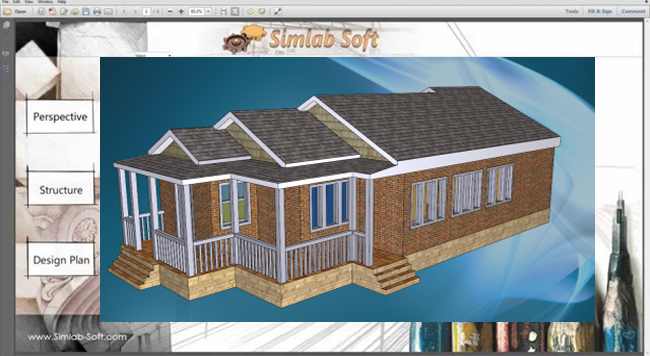 SimLab 3D PDF Exporter for SketchUp