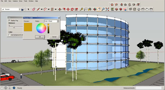 Learn how to use sketchup & google earth for conceptual site modeling
