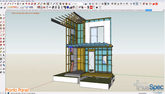 3D Construction details in SketchUp and PlusSpec